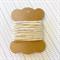 10 Metres Cream High Quality Wax Cotton Cord