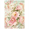 Rice Paper - Decoupage -  1 x A4 Size Sheet - Love Shabby Roses