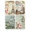 Rice Paper - Decoupage -  1 x A4 Size Sheet - Vintage Paris