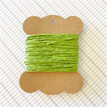 10 Metres Lime Green Paper String