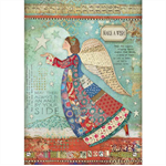 Rice Paper - Decoupage -  1 x A4 Size Sheet - Wish Like an Angel