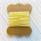 10 Metres Solid Baby Yellow Bakers Cotton Twine