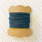 10 Metres Navy High Quality Wax Cotton Cord