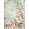 Rice Paper - Decoupage -  1 x A4 Size Sheet - Rose Garden