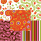 Pretty Bird by Pillow and Maxfield for Michael Miller Fabrics   5 Fat Quarters