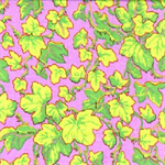 Ivy by Phillip Jacobs | PJ19 Lime on Lilac | 1.4 metre piece