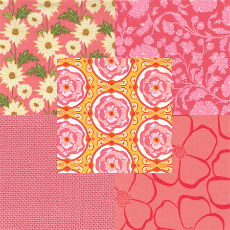 Coral Reef by Various | 5 Fat Quarters