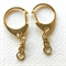 Gold key rings (5)