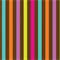 Playdate by Patty Young for Michael Miller Fabrics | Candy Stripe | Chocolate