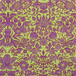 Gabrielle by Fabri-Quilt | Purple on Lime