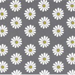 Daisy Doodle by Michael Miller Fabrics | Oopsie Daisy | CX4541 Grey