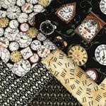 Clock Fabric Bundle 6.2 Metres