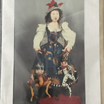 Splendor with Mirth and Good Cheer - Cloth Doll Pattern